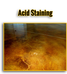 Acid Staining Button