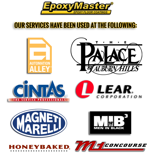 EpoxyMaster Services Used At The Following V5