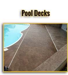 Pool Decks Button