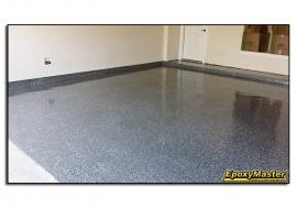 Finished Epoxy Garage Floor!