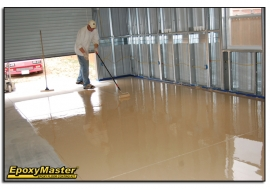 Tips For An Easier Do-It-Yourself Epoxy Garage or Basement Floor Project
